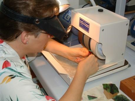 Cabochon Grinding & Polishing