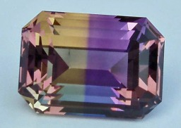 Ametrine Step Facet