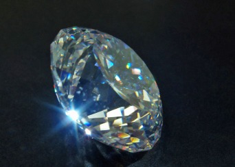 Faceted Cubic Zirconia